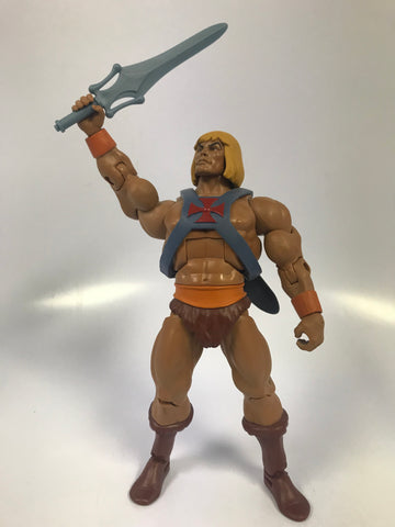 Mattel He-Man Masters of the Universe Classics MOTUC Filmation He-Man Super 7