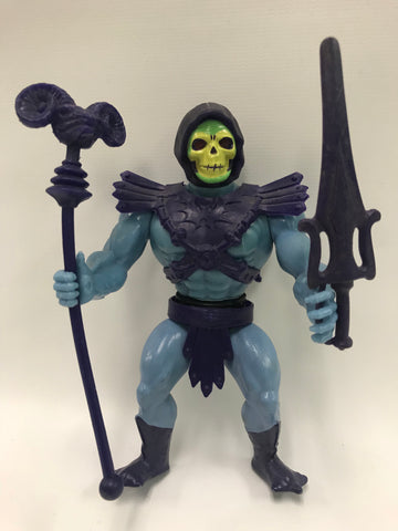 1982 Mattel He-Man & The Masters of the Universe Skeletor Loose Complete - Beautiful Condition