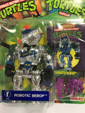 1993 Vintage Ideal TMNT Ninja Turtles Heroes Robotic Bebop (Purple Weapons) Foreign Release MOC SEALED