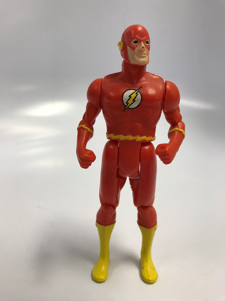 1984 DC Comics Kenner Super Powers The Flash Barry Allen Loose Complete