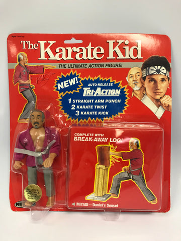 1986 Remco The Karate Kid Mr. Miyagi Ultimate Deluxe Figure UNOPENED Brand New