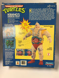 1991 Playmates Teenage Mutant Ninja Turtles TMNT Krang's Android Body Contents Sealed