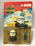1986 Kenner M.A.S.K. MASK Vintage T-BOB With Scott Trakker Motorscooter SEALED New