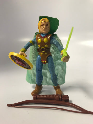 1984 Vintage LJN Advanced Dungeons & Dragons Peralay / Melf Good Fighter Mage Elf Complete