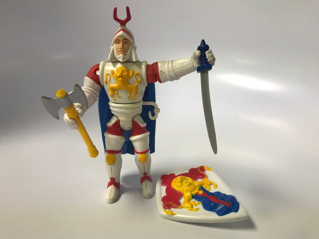 1984 Vintage LJN Advanced Dungeons & Dragons Bowmarc Good Crusader Complete