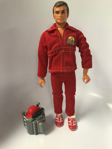 1975 Vintage Kenner The Six Million Dollar Man Steve Austin With Bionic Eye Action