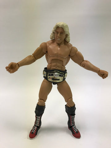 Mattel WWE WCW WWF NWA TNA Ric Flair 4 Horsemen w/ NWA World Heavyweight Championship Belt
