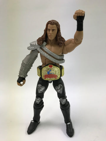 Mattel WWE WCW WWF NWA TNA Elite 14 Lost Legends HBK Shawn Michaels w/ European Championship Title