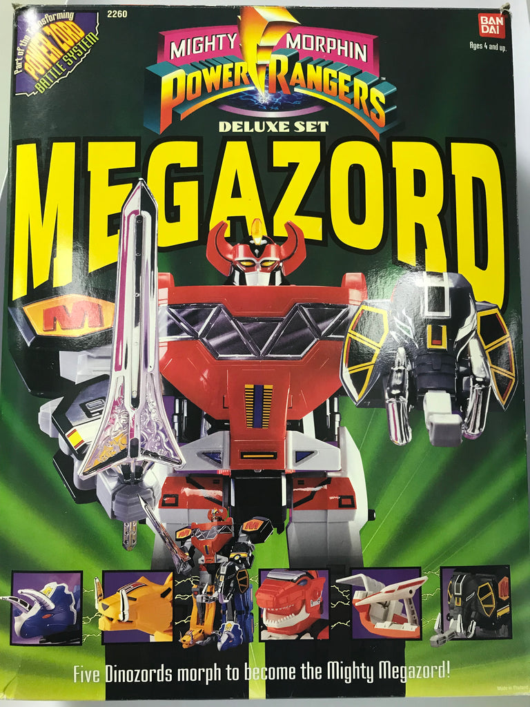 1993 bandai mighty morphin power rangers megazord complete. Black Bedroom Furniture Sets. Home Design Ideas