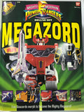 1993 Bandai Mighty Morphin Power Rangers MEGAZORD Complete In Original Box