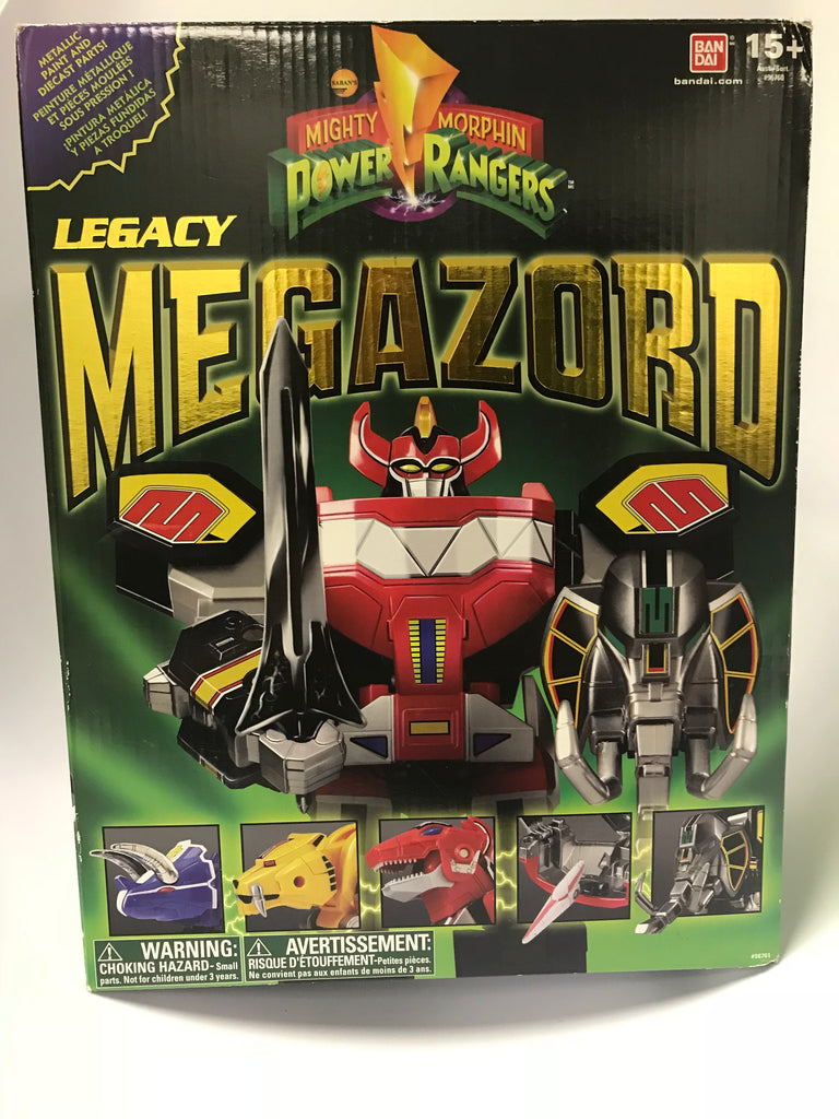 2015 Bandai Mighty Morphin Power Rangers Legacy MEGAZORD Complete In Original Box