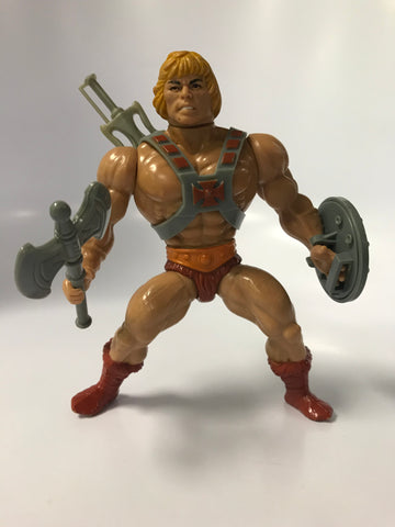 1982 Mattel He-Man & The Masters of the Universe He-Man: The Most Powerful Man in the Universe Loose Complete