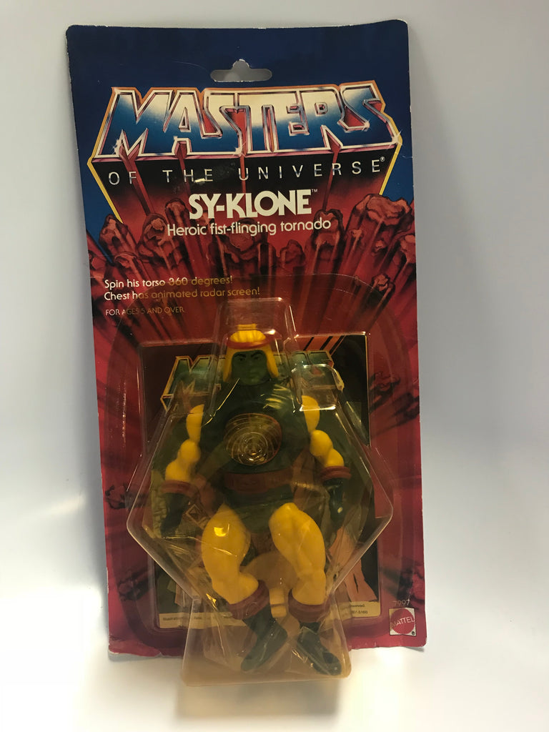 1985 Mattel He-Man & The Masters of the Universe Sy-Klone MOC Unopened Sealed