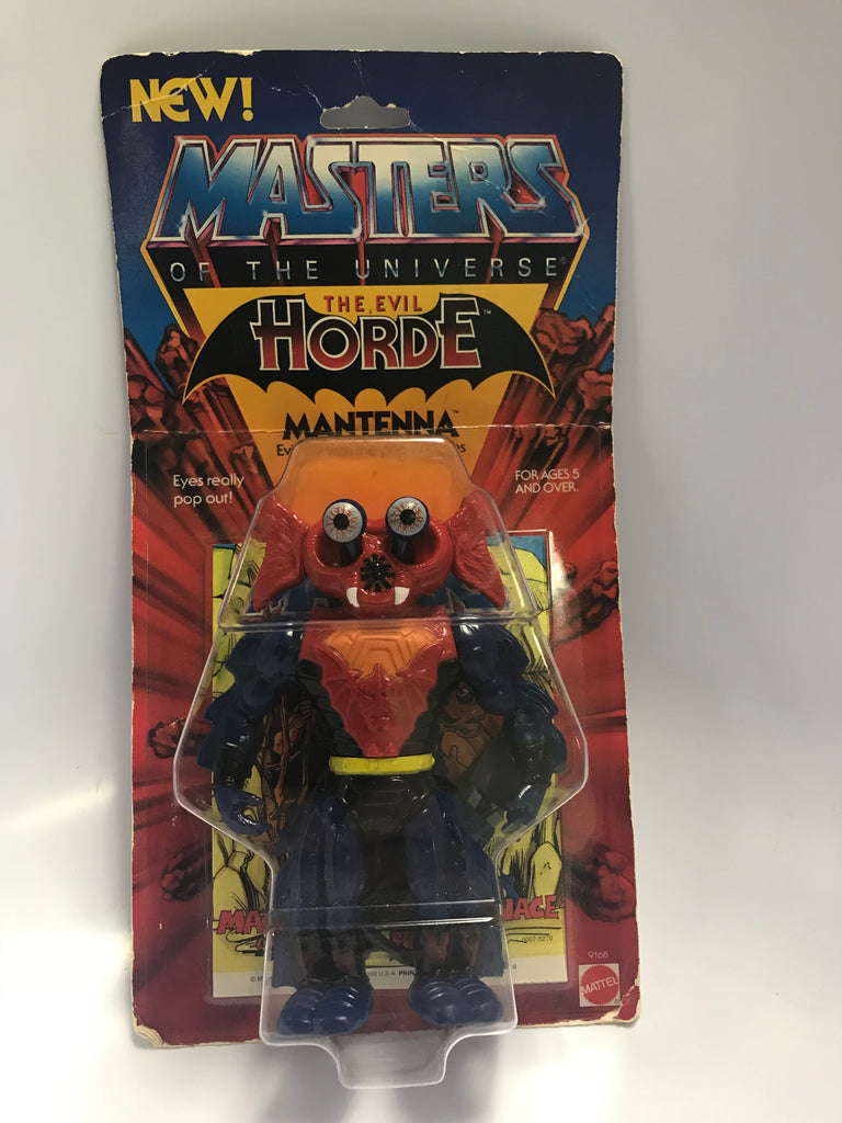 1985 Mattel He-Man & The Masters of the Universe Mantenna MOC Unopened Sealed