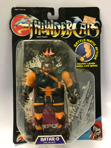 1985 LJN Thundercats Vintage Ratar-o Rataro Evil Mutant MOC Factory Sealed NEW