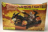1980's Vintage Sewco Remco Sungold Galaxy Warrior Demon Fighter He-Man MOTU Knock-Off Contents Sealed Never Played With Or Removed From Inserts