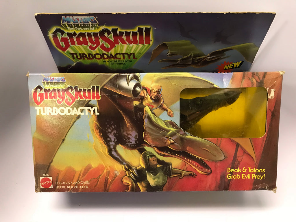 1982 Mattel He-Man & The Masters of the Universe Powers of Grayskull Turbordactyl Pterodactyl Dinosaur SEALED MISB NEW