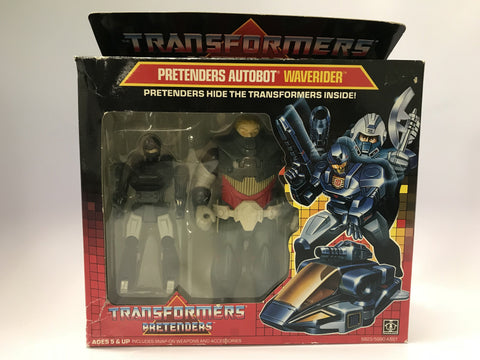 1987 Vintage Hasbro Transformers Pretenders Autobot Waverider Factory Sealed MISP NEW