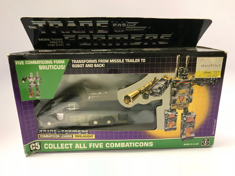 1986 Hasbro Transformers Bruticus Onslaught G1 MISB Factory Sealed MISP NEW