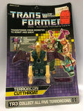 1986 Hasbro Transformers Original G1 Terrorcon CUTTHROAT Abominus Combiner Factory Sealed MISB MISP MOC NEW