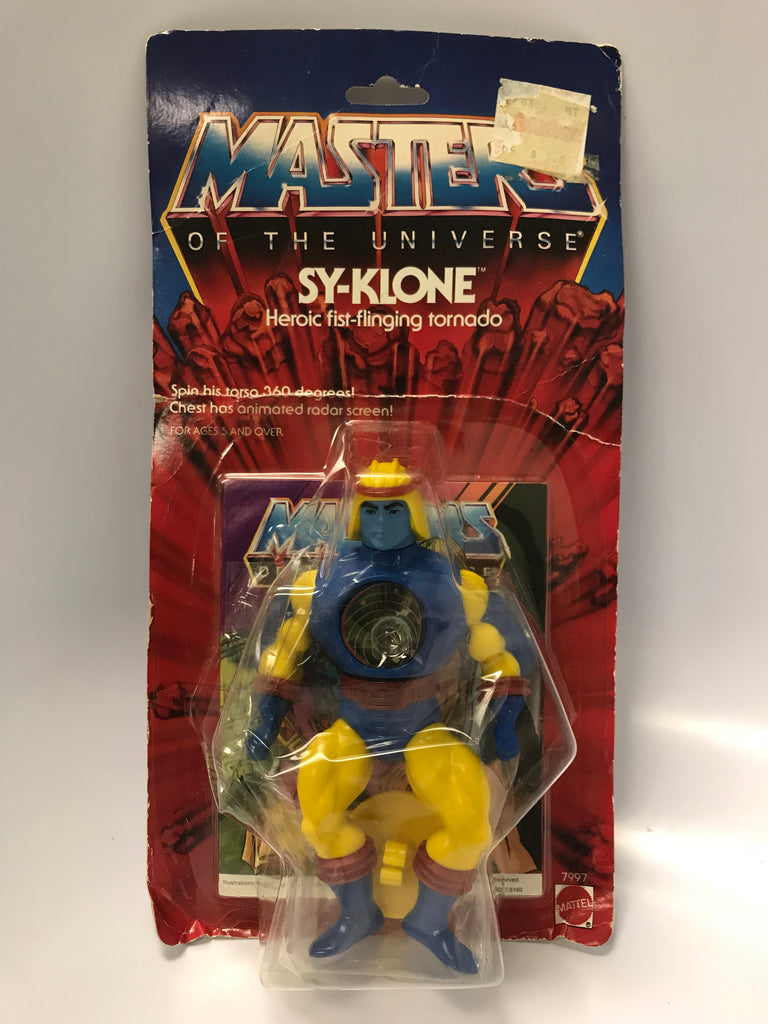 1985 Mattel He-Man & The Masters of the Universe Sy-Klone MOC Factory Sealed