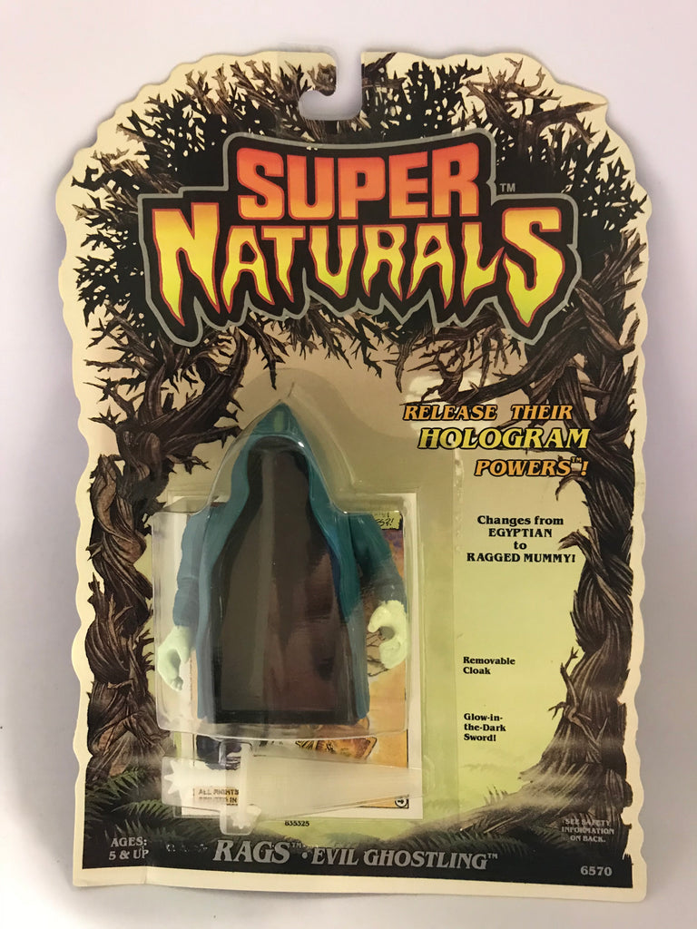 1986 Tonka Toys Super Naturals Evil Ghostling Rags MOC Factory Sealed New Old Stock