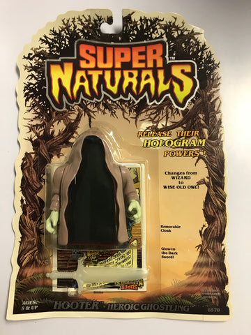 1986 Tonka Toys Super Naturals Heroic Ghostling Hooter MOC Factory Sealed New Old Stock