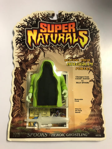 1986 Tonka Toys Super Naturals Evil Ghostling Spooks MOC Factory Sealed New Old Stock