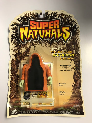 1986 Tonka Toys Super Naturals Heroic Ghostling Mr Lucky MOC Factory Sealed New Old Stock