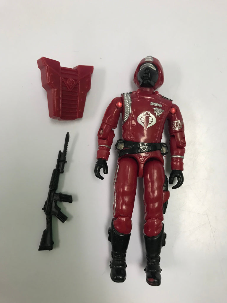 1985 Hasbro Gi Joe CRIMSON GUARD (v1)  COBRA ELITE TROOPER  Loose Complete
