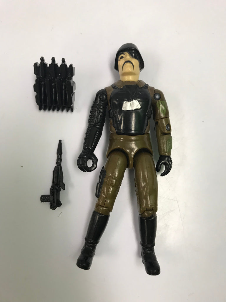 1983 Hasbro Gi Joe MAJOR BLUDD (v1) MERCENARY Loose Complete