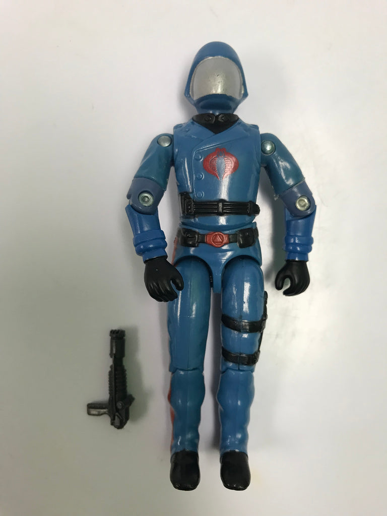 1983 Hasbro Gi Joe COBRA COMMANDER (v1.5) ENEMY LEADER Loose Complete