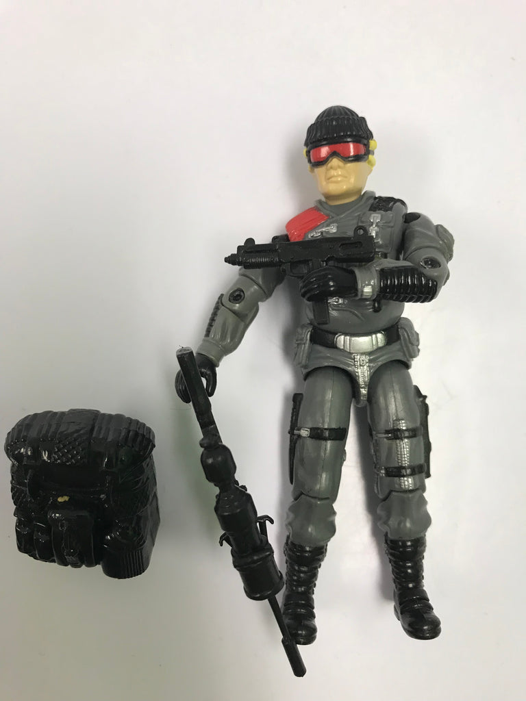 1983 Hasbro Gi Joe LOW-LIGHT (v1) NIGHT SPOTTER Loose Complete with Stand