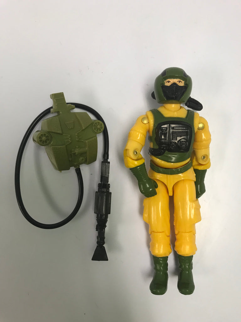 1987 Hasbro Gi Joe AIRTIGHT (v1) HOSTILE ENVIRONMENT Loose Complete