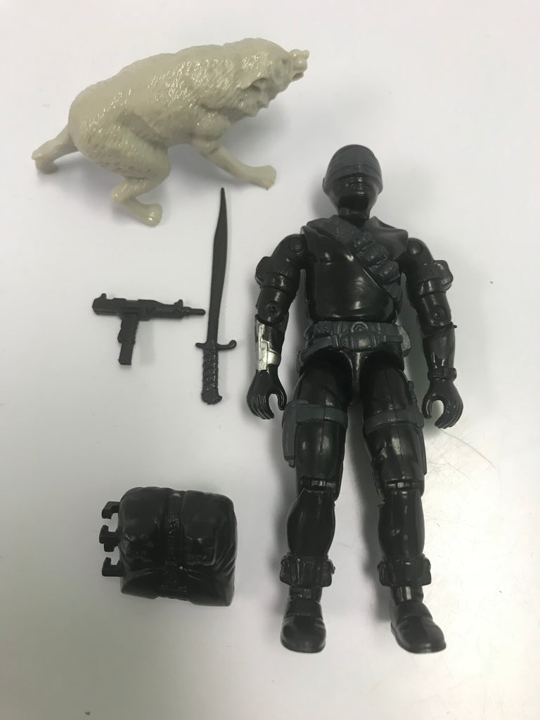 1985 Hasbro Gi Joe SNAKE EYES (v2) COMMANDO Loose Complete