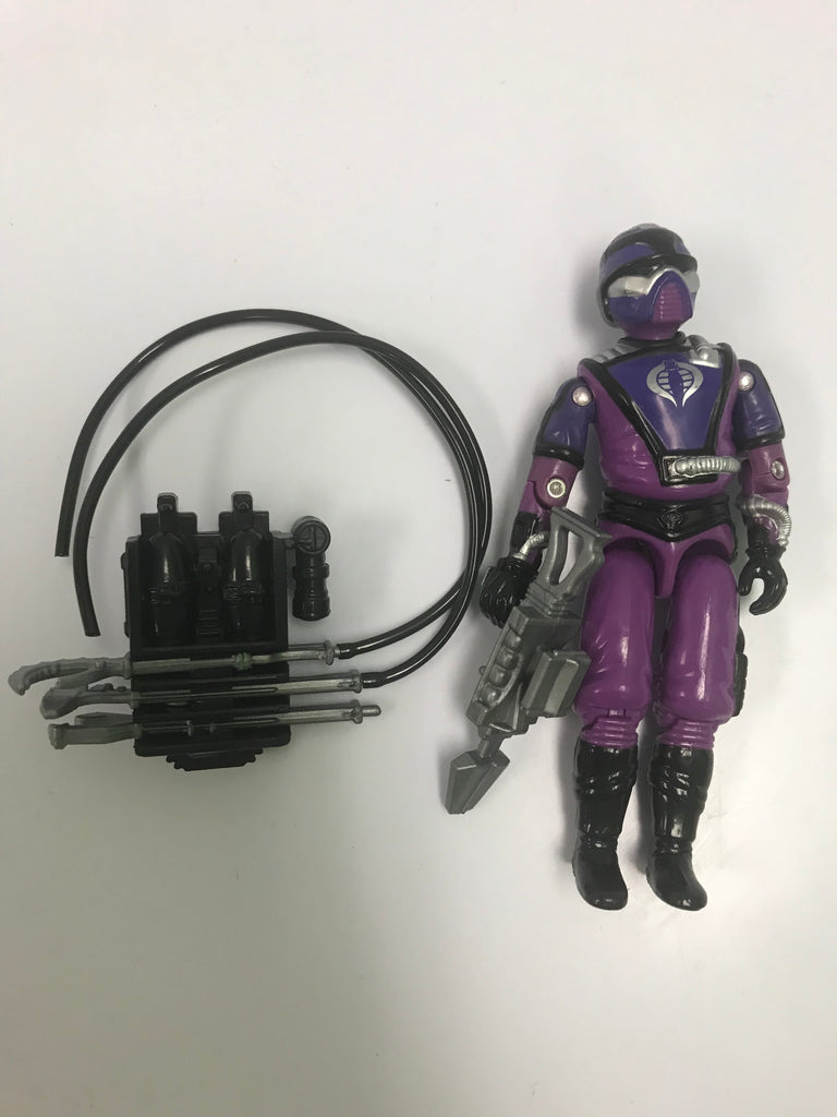 1987 Hasbro Gi Joe TECHNO-VIPER (v1) COBRA BATTLEFIELD TECHNICIAN Loose Complete