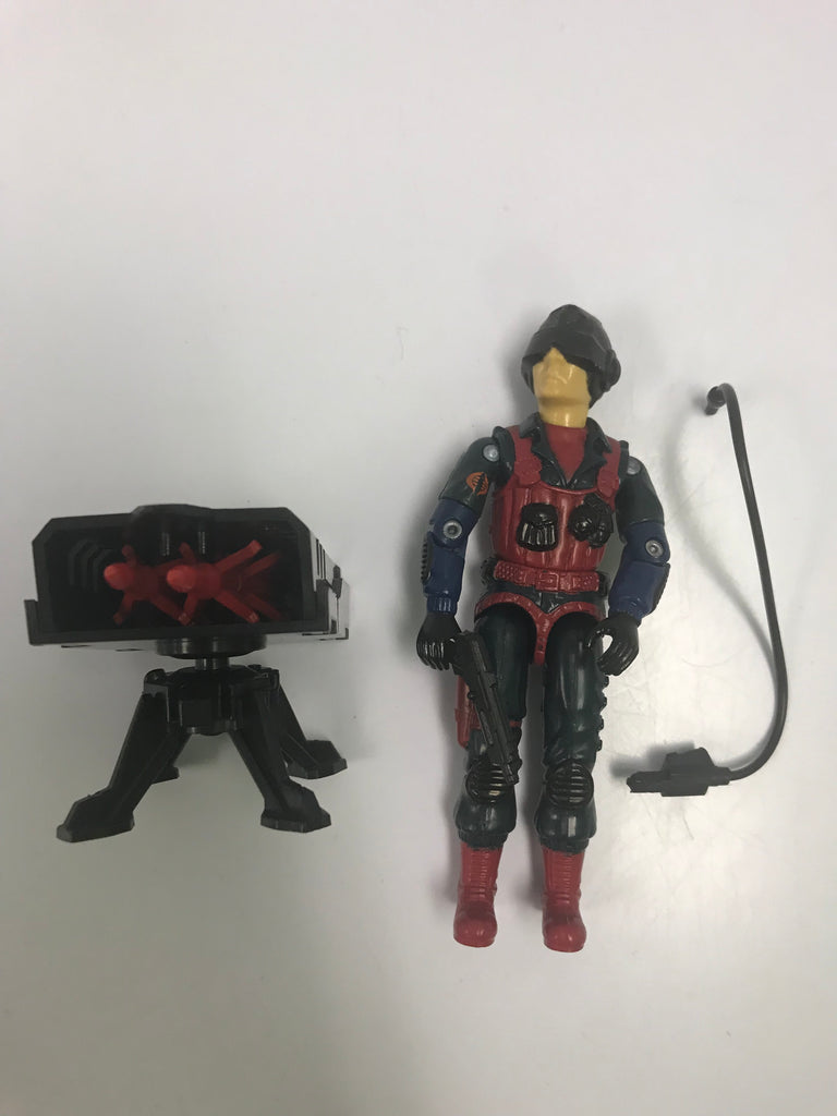 1984 Hasbro Gi Joe SCRAP IRON (v1) COBRA ANTI-ARMOR SPECIALIST Loose Complete