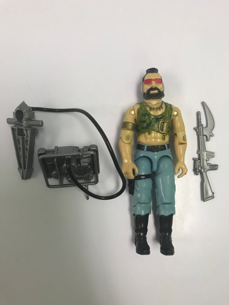 1985 Hasbro Gi Joe RIPPER (v1) DREADNOK Loose Complete
