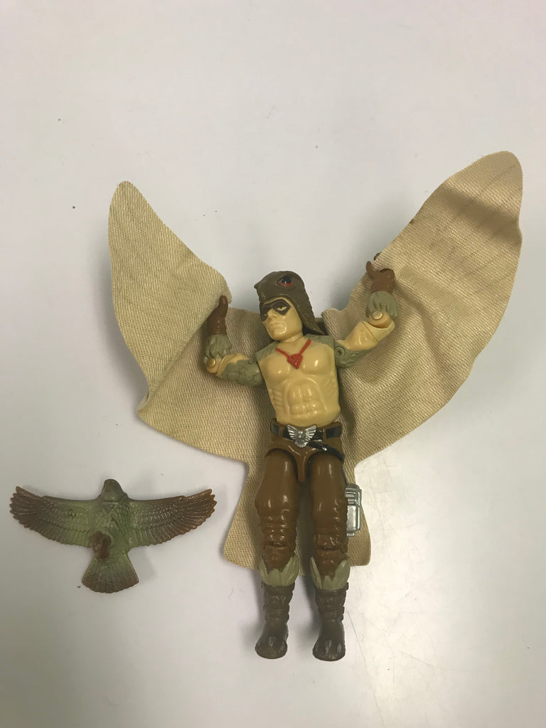 1987 Hasbro Gi Joe RAPTOR (v1) COBRA FALCONER Loose Complete