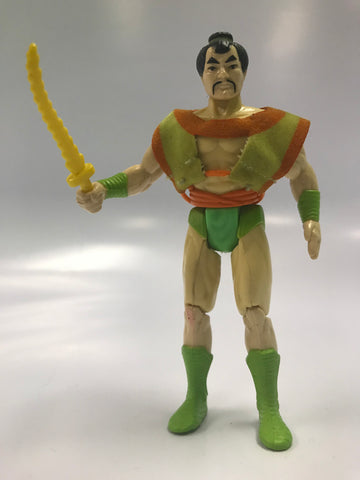 1986 Kenner Super Powers Series 3 Samurai ALL ORIGINAL NO REPRO Loose Complete