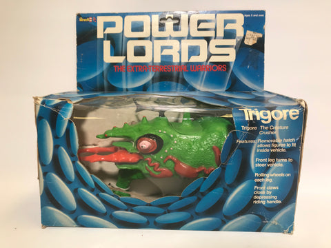 1983 Revell Power Lords Trigore The Creature Crusher Contents Sealed Never Removed From Box