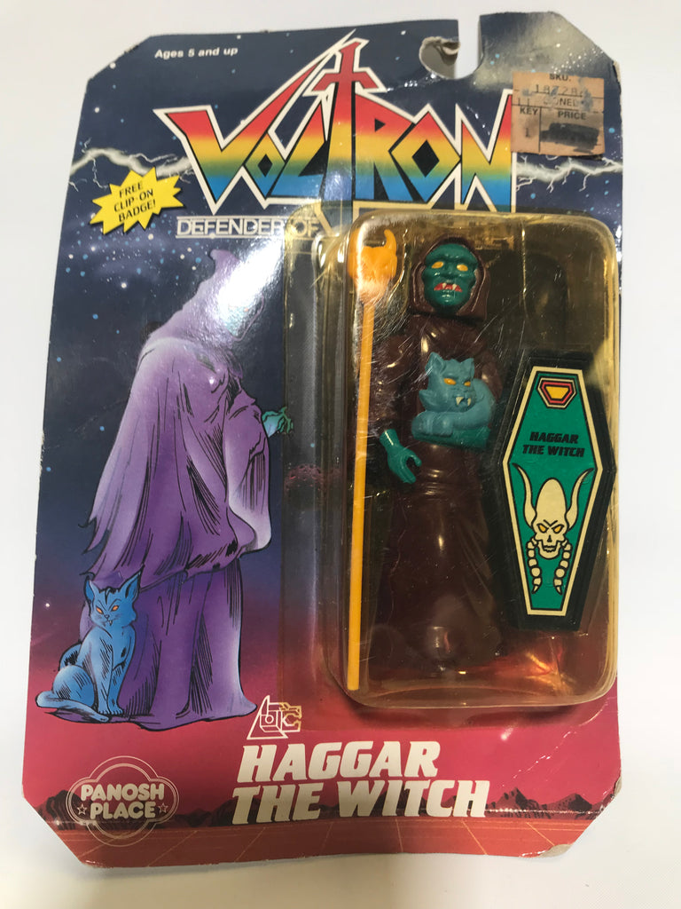 1984 Panosh Place Voltron Haggar The Witch MOC Factory Sealed NEW