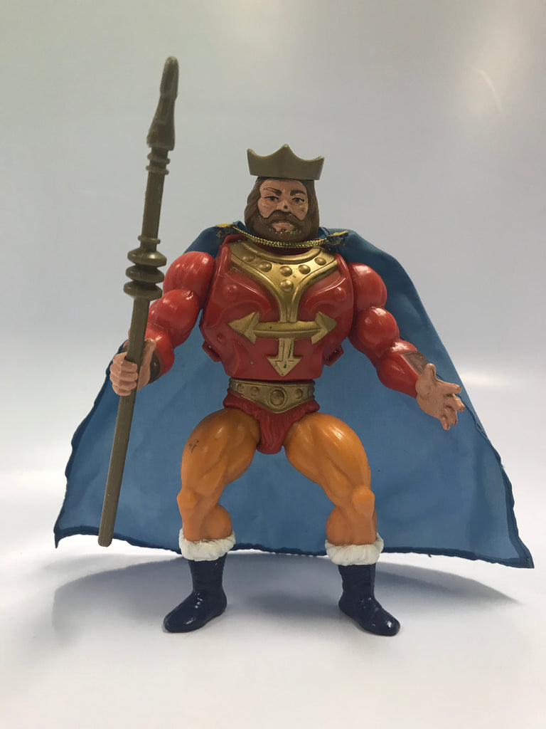 1987 Mattel He-Man & The Masters of the Universe King Randor Loose Complete