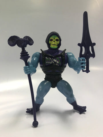 1984 Mattel He-Man & The Masters of the Universe Battle Armor Skeletor Loose Complete