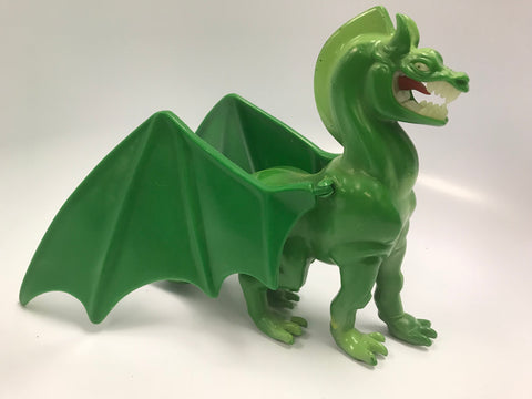 1981 Galoob Blackstar Warlock Dragon (Green Version) Loose Complete