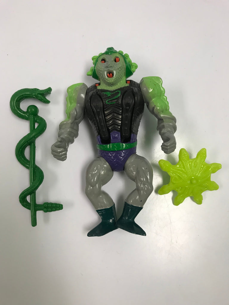 1987 Mattel He-Man & The Masters of the Universe Snake Face of the Snake Men Loose Complete