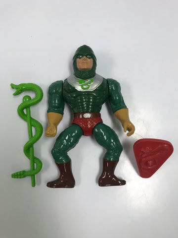 1984 Mattel He-Man & The Masters of the Universe King Hiss of the Snake Men Loose Complete