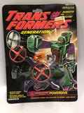 1988 Hasbro Transformers G2 Decepticon Rotor Force POWERDIVE Helicopter MOC Sealed