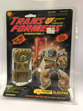 1988 Hasbro Transformers G2 Electro Gold Hot Rod Laser Rod Robot MOC Sealed