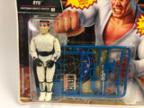 1993 Vintage Hasbro GI Joe Street Fighter 2 II Ryu MOC Sealed